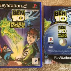 Videojuegos y Consolas: BEN 10 ALIEN FORCE PS2 PLAYSTATION 2 PLAY STATION TWO KREATEN. Lote 119257835