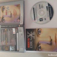 Videojuegos y Consolas: RESIDENT EVIL CODE VERONICA X PS2 PLAYSTATION 2 COMPLETO PAL-ESPAÑA . Lote 119289807