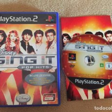 Videojuegos y Consolas: DISNEY SING IT POP HITS SING STAR SINGSTAR PS2 PLAYSTATION 2 PLAY STATION TWO . Lote 119302147