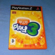 Videojuegos y Consolas: JUEGO PLAYSTATION 2 EYE TOY PLAY 3. Lote 120485735
