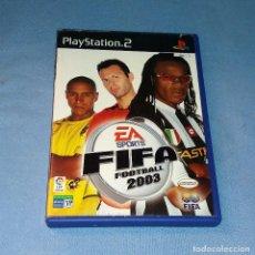 Videojuegos y Consolas: JUEGO PLAYSTATION 2 FIFA FOOTBALL 2003. Lote 120486259