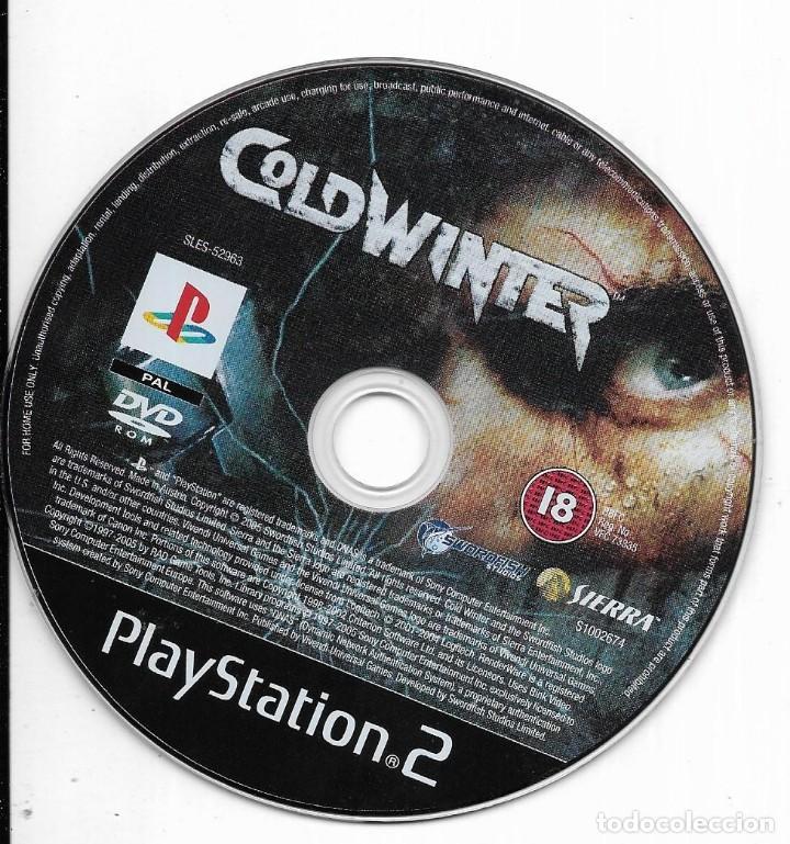 == D149 - JUEGO COLDWINTER - PLAYSTATION 2 - SIN CARATULA (Juguetes - Videojuegos y Consolas - Sony - PS2)