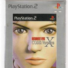 Videojuegos y Consolas: PS2. RESIDENT EVIL. CODE: VERONICA X. (RF.MA) ST/C74. Lote 255969480