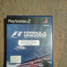 Videojuegos y Consolas: FORMULA ONE 2002. Lote 124689250