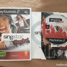 Videojuegos y Consolas: SINGSTAR ROCKS! SING STAR ROCK PS2 PLAYSTATION TWO PLAY STATION 2 KREATEN. Lote 121523143