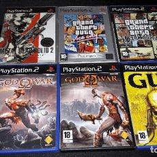 Videojuegos y Consolas: LOTE DE GRANDES JUEGOS PLAY 2 LEER DESCRIPCION BUEN ESTADO GENERAL. Lote 121532419
