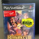 Videojuegos y Consolas: VIDEOJUEGO ROMANCE VIII OF THE THREE KINGDOMS PS2 NUEVO. Lote 121647198