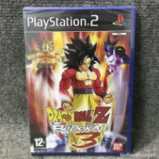 Videojuegos y Consolas: DRAGON BALL Z BUDOKAI 3 NUEVO Y PRECINTADO PLAYSTATION 2. Lote 121743159