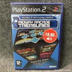 Videojuegos y Consolas: MIDWAY ARCADE TREASURES 3 NUEVO Y PRECINTADO PLAYSTATION 2. Lote 121743163