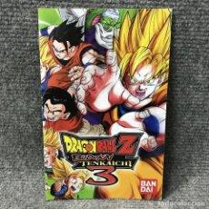 Videojuegos y Consolas: MANUAL DRAGON BALL Z BUDOKAI TENKAICHI 3 PLAYSTATION 2. Lote 121743187