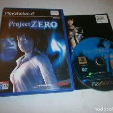 Videojuegos y Consolas: PROJECT ZERO PLAYSTATION 2 PAL ESPAÑA COMPLETO . Lote 121927415