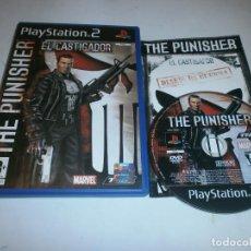 Videojuegos y Consolas: THE PUNISHER EL CASTIGADOR PLAYSTATION 2 PAL ESPAÑA COMPLETO . Lote 121927559