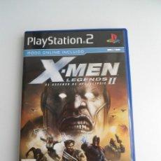 Videojuegos y Consolas: X-MEN LEGENDS II 2 - EL ASCENSO DEL APOCALIPSIS - MARVEL - SONY PS2 - PLAYSTATION 2 - COMO NUEVO. Lote 171741314