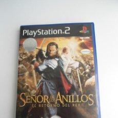 Videojuegos y Consolas: EL SEÑOR DE LOS ANILLOS - EL RETORNO DEL REY - SONY PS2 - PLAYSTATION 2. Lote 122728127