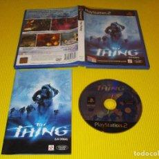 Videojuegos y Consolas: THE THING ( LA COSA ) - PS2 - SLES 50975 - KONAMI - TOTALMENTE EN CASTELLANO. Lote 122990595