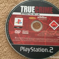Videojuegos y Consolas: TRUE CRIME STREETS OF LA - PLAYSTATION 2 PLAY STATION TWO PS2. Lote 123048235