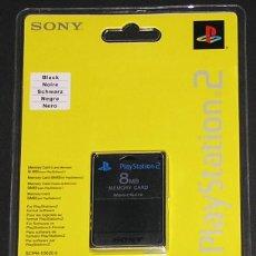 Videojuegos y Consolas: SONY MEMORY CARD 8 MB PLAYSTATION 2 PS2 ORIGINAL OFICIAL TARJETA DE MEMORIA. Lote 123083607