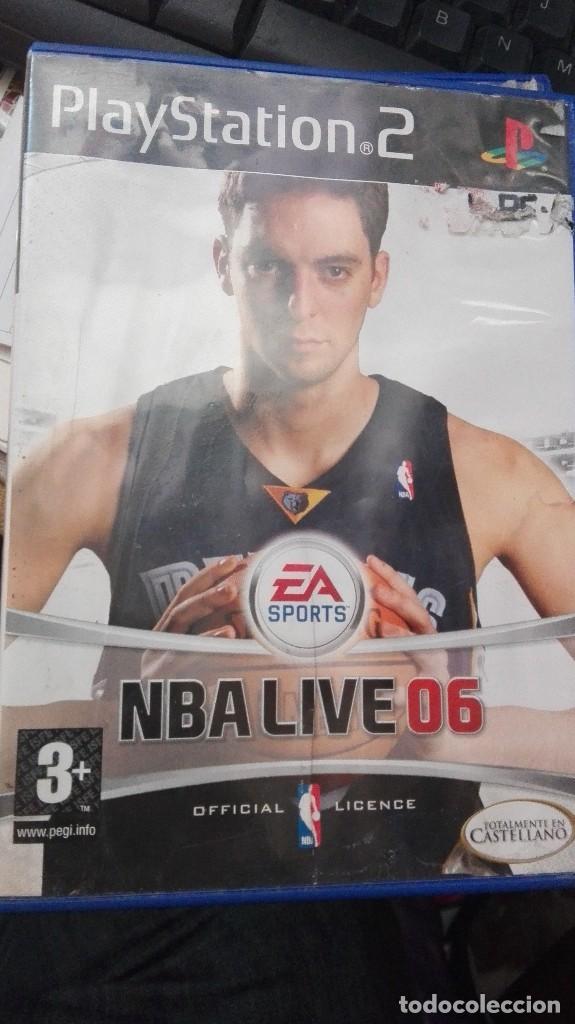 NBA LIVE 06 PLAY STATION 2 (Juguetes - Videojuegos y Consolas - Sony - PS2)