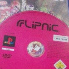 Videojuegos y Consolas: FLIPNIC UBISOFT PINBALL PIMBALL PS2 PLAYSTATION 2 PLAY STATION . Lote 124188551