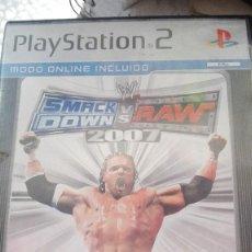 Videojuegos y Consolas: SMACK DOWN SMACKDOWN VS RAW 2007 JUEGO PARA PLAYSTATION. Lote 124189019