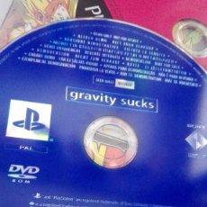 Videojuegos y Consolas: RARISIMO JUEGO PLAY SYTATION 2 GRAVITY SUCKS. Lote 124189519