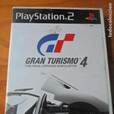 Videojuegos y Consolas: GRAN TURISMO 4 - PLAYSTATION 2, JUEGO PS2 - PAL ESPAÑA- COMPLETO. Lote 124589015
