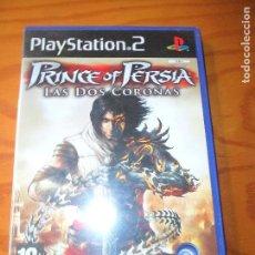 Videojuegos y Consolas: PRINCE OF PERSIA, LAS DOS CORONAS - PLAYSTATION 2, JUEGO PS2 - PAL ESPAÑA-. Lote 124590431