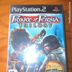 Videojuegos y Consolas: ESPECIAL PRINCE OF PERSIA TRILOGY - PLAYSTATION 2, JUEGO PS2 - PAL ESPAÑA- NUEVO SIN ABRIR. Lote 124590651