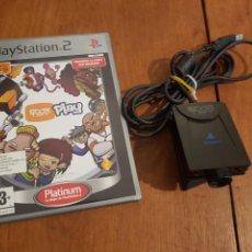 Videojuegos y Consolas: CAMARA EYE TOY Y JUEGO PARA PLAYSTATION 2. Lote 125093776