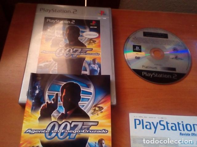 Videojuegos y Consolas: LOTE PS2 - AGENTE 007 EN FUEGO CRUZADO JUEGO + DOS DISCOS DE DEMOS JUGABLES PS2 - PLAYSTATION 2 - Foto 2 - 125391875