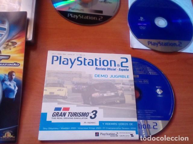 Videojuegos y Consolas: LOTE PS2 - AGENTE 007 EN FUEGO CRUZADO JUEGO + DOS DISCOS DE DEMOS JUGABLES PS2 - PLAYSTATION 2 - Foto 3 - 125391875