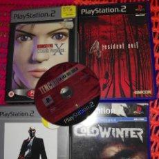 Videojuegos y Consolas: LOTE PS2. CINCO GRANDES JUEGOS RESINDENT EVIL TENCHU. Lote 125763875