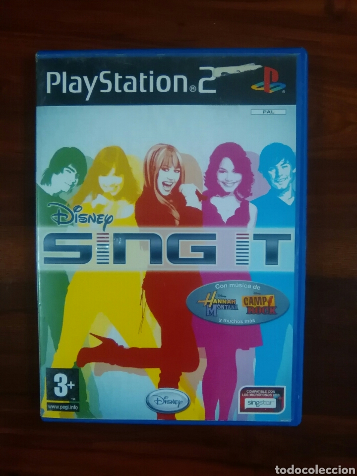 DISNEY SING IT - SONY PLAYSTATION 2 - PS2 - PS3 - PAL - CANTAR - SINGSTAR (Juguetes - Videojuegos y Consolas - Sony - PS2)