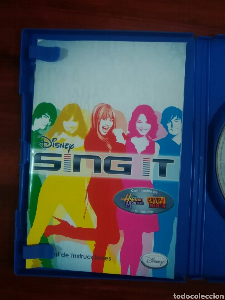 Videojuegos y Consolas: DISNEY SING IT - SONY PLAYSTATION 2 - PS2 - PS3 - PAL - CANTAR - SINGSTAR - Foto 2 - 95149643