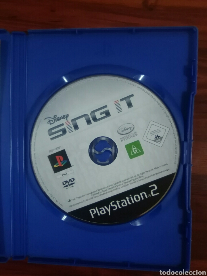 Videojuegos y Consolas: DISNEY SING IT - SONY PLAYSTATION 2 - PS2 - PS3 - PAL - CANTAR - SINGSTAR - Foto 3 - 95149643
