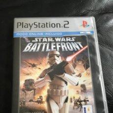 Videojuegos y Consolas: STAR WARS BATTLEFRONT STARWARS BATTLE FRONT 1 - PS2 PLAYSTATION 2 MUY BUEN ESTADO. Lote 236259875