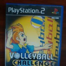 Videojuegos y Consolas: VOLLEYBALL CHALLENGE - SONY PLAYSTATION 2 - PS2 - PAL - COMPLETO. Lote 72614471