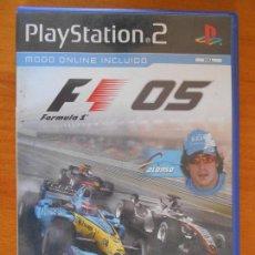 Videojuegos y Consolas: PS2 FORMULA ONE 05 - FORMULA 1 - PAL ESPAÑA - PLAYSTATION 2 (5O). Lote 127244311