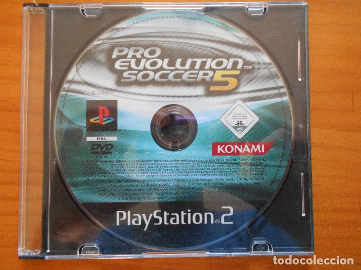 PS2 PRO EVOLUTION SOCCER 5 - PAL ESPAÑA - PLAYSTATION 2 - SOLO DISCO (1E)