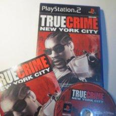 Videojuegos y Consolas: TRUE CRIME NEW YORK CITY (PLAYSTATION 2) (PS2) (PSX2). Lote 127837119