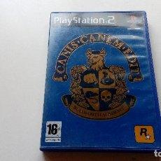 Videojuegos y Consolas: JUEGO CANIS CANEM EDIT DIFICIL PS2 PLAY STATION 2 VER FOTOS Y DESCRIPCION. Lote 128096475