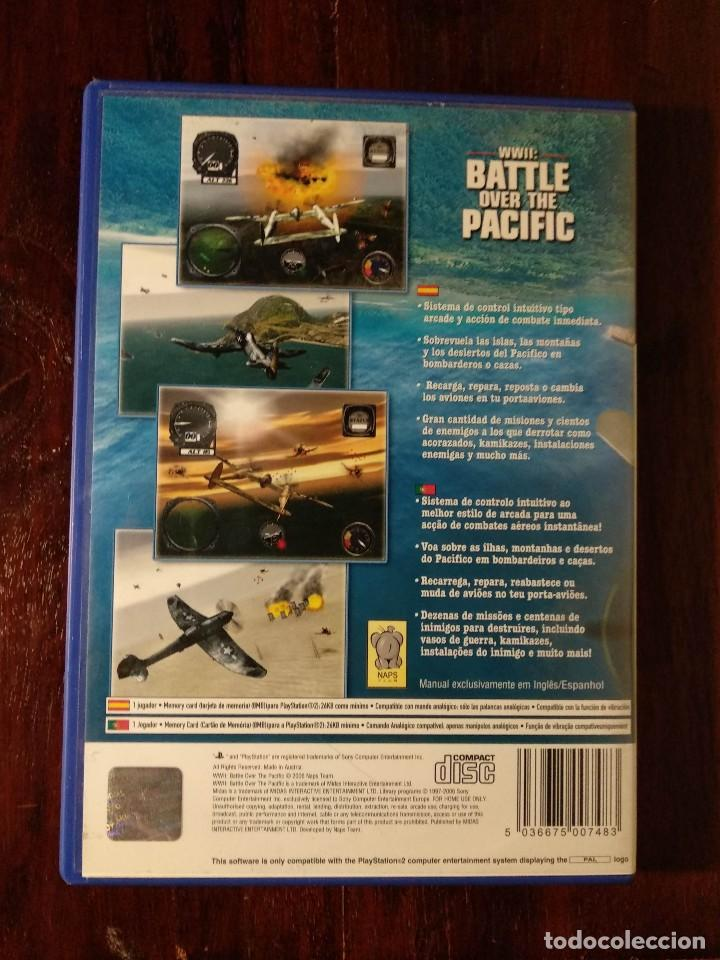 Videojuegos y Consolas: WWII: BATTLE OVER THE PACIFIC - PS2 - PLAYSTATION 2 - Foto 2 - 128111359