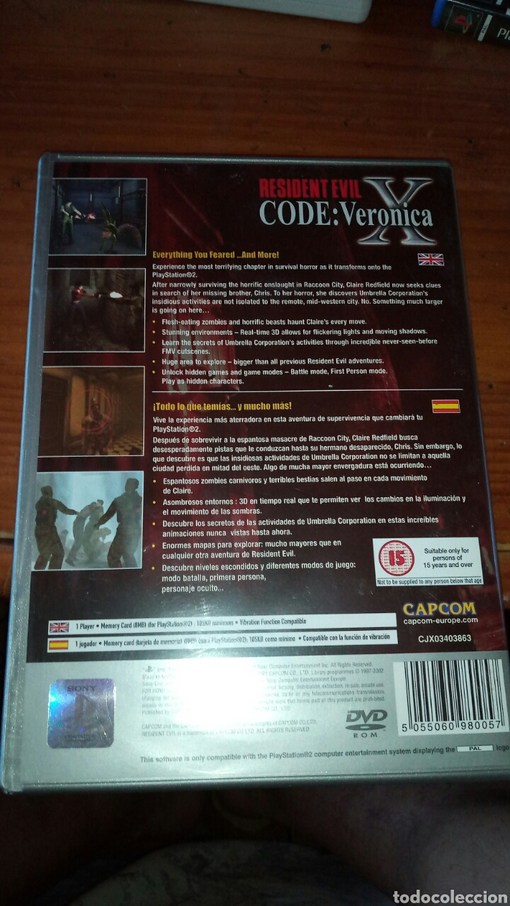 Videojuegos y Consolas: Resident evil code veronica + mini guia - Foto 2 - 128150226