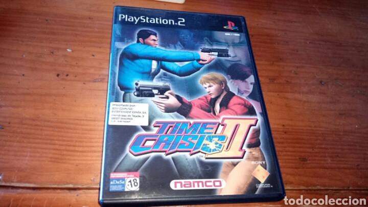 TIME CRISIS 2 (Juguetes - Videojuegos y Consolas - Sony - PS2)