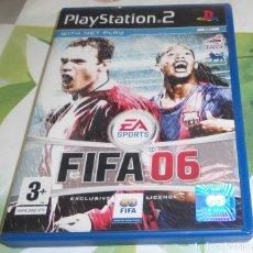 Videojuegos y Consolas: DVD FIFA 06 - PS2 PLAYSTATION 2 PLAY STATION TWO. Lote 128361843