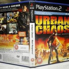 Videojuegos y Consolas: URBAN CHAOS: RIOT RESPONSE PLAYSTATION 2 PS2. Lote 128807791