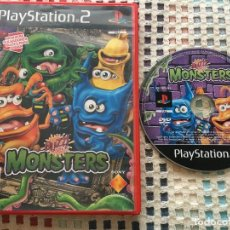 Videojuegos y Consolas: BUZZ JUNIOR MONSTERS MONSTER BUZZS BUZZER BUZZERS PS2 PLAYSTATION 2 PLAY STATION TWO KREATEN. Lote 129560503