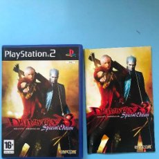 Videojuegos y Consolas: DEVIL MAY CRY 3 SPECIAL EDITION PARA PS2 - PLAYSTATION 2 . Lote 130072995