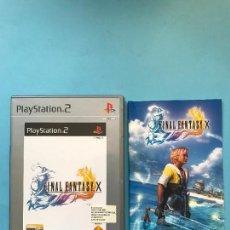 Videojuegos y Consolas: FINAL FANTASY X PARA PS2 - PLAYSTATION 2 . Lote 130073039