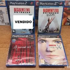Videojuegos y Consolas: COLECCION LOTE DE JUEGOS PLAYSTATION 2-PS2-RESIDENT EVIL-NUEVO PRECINTADO-PAL. Lote 130165412